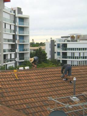 Highrise Building Roof Repairs 2